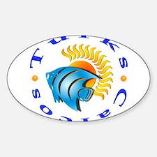 tnc sunfish Oval Decal