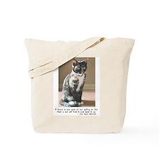 Feline Spot of Sun Tote Bag
