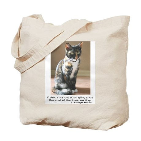 Feline Spot of Sun Tote Bag