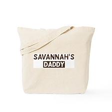 Savannahs Daddy Tote Bag
