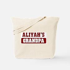 Aliyahs Grandpa Tote Bag