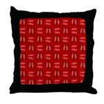 Martini Bloody Mary Throw Pillow