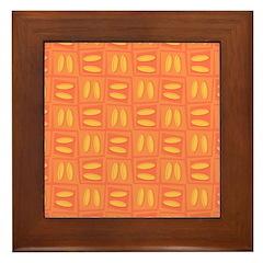 Martini Citrus Framed Tile
