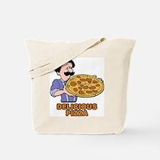 Delicious Pizza Tote Bag