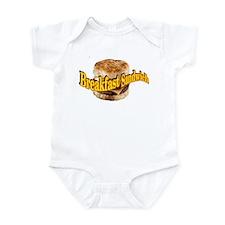 Breakfast Sandwich Infant Bodysuit