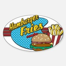 Burges & Fries Oval Decal