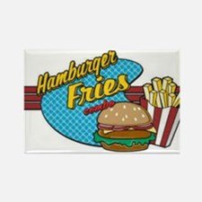 Burges & Fries Rectangle Magnet (10 pack)