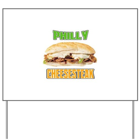 Philly CheeseSteak Yard Sign