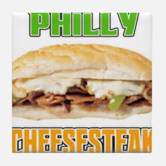 Philly CheeseSteak Tile Coaster