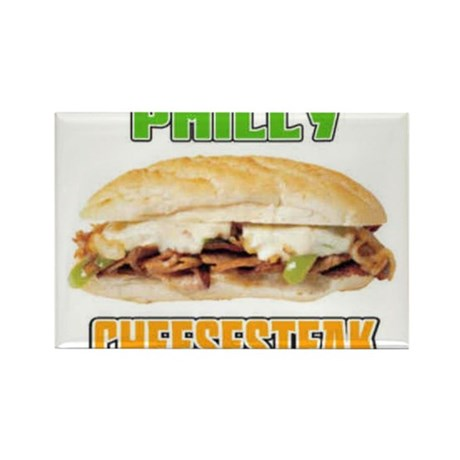 Philly CheeseSteak Rectangle Magnet (10 pack)