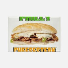 Philly CheeseSteak Rectangle Magnet