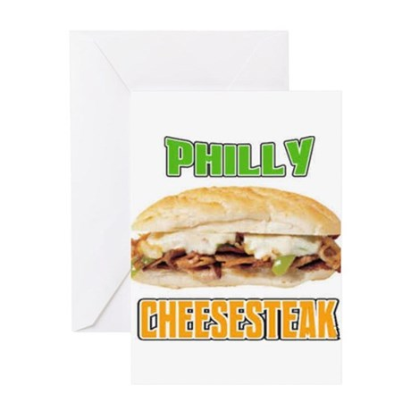 Philly CheeseSteak Greeting Card