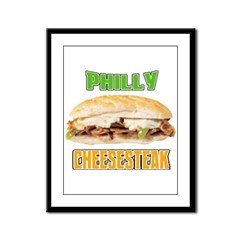Philly CheeseSteak Framed Panel Print
