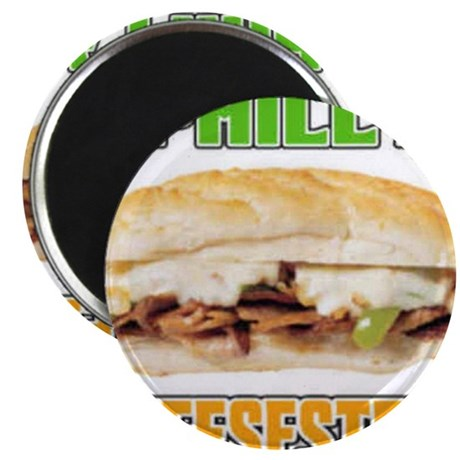 """Philly CheeseSteak 2.25"""" Magnet (10 pack)"""