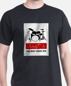 Heartbeat of a Drummer T-Shirt