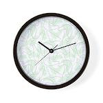Boomerang Mint Wall Clock