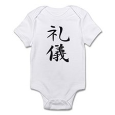 Courtesy - Kanji Symbol Infant Bodysuit