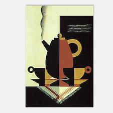 Vintage Coffee Postcards (Package of 8)