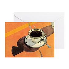 Vintage Coffee Greeting Cards (Pk of 20)