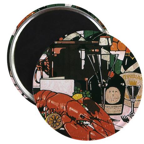 """Vintage Fancy Foods 2.25"""" Magnet (100 pack)"""