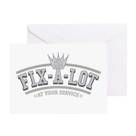 Sir Fix-A-Lot Greeting Card
