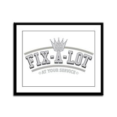 Sir Fix-A-Lot Framed Panel Print
