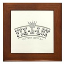Sir Fix-A-Lot Framed Tile