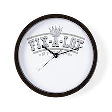 Sir Fix-A-Lot Wall Clock