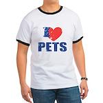 I Love Pets Ringer T