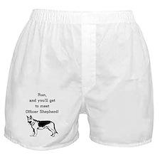 K9 Officer Shepherd Boxer Shorts