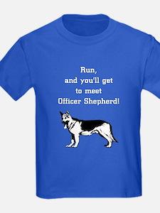 K9 Officer Shepherd T