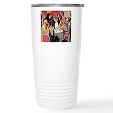 Vintage Cocktail Party Travel Coffee Mug