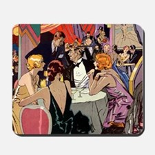 Vintage Cocktail Party Mousepad