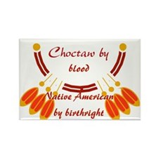 """""""Choctaw"""" Rectangle Magnet"""