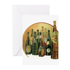 Vintage Imported Beer Greeting Cards (Pk of 20)