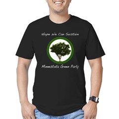 Minnesota Green Party black tshirt