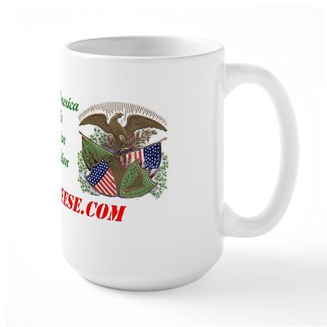 Irish America: Fenian Trad - Large Mug