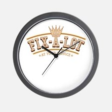 Sir Fix-A-Lot Wall Clock