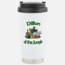 Dillon of the Jungle Stainless Steel Travel Mug