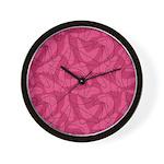 Boomerang Bold Bordello Wall Clock