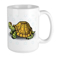 Large Jewish Turtle Mug
