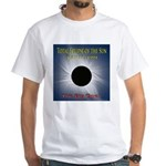 1991 Total Solar Eclipse White T-Shirt