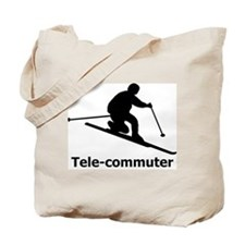 Tele-commuter Tote Bag
