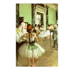 Dance Class Postcards (Package of 8)