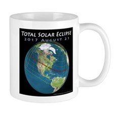 2017 Total Solar Eclipse Small Mug