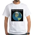 2017 Total Solar Eclipse White T-Shirt