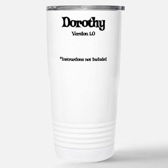 Dorothy - Version 1.0 Stainless Steel Travel Mug