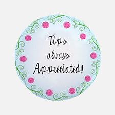 """Tips appreciated! 3.5"""" Button"""