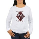 rise up Women's Long Sleeve T-Shirt