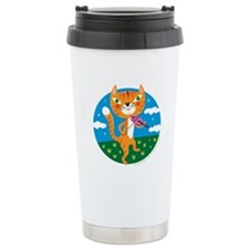 """""""The Cat and the Fiddle"""" Travel Mug"""
